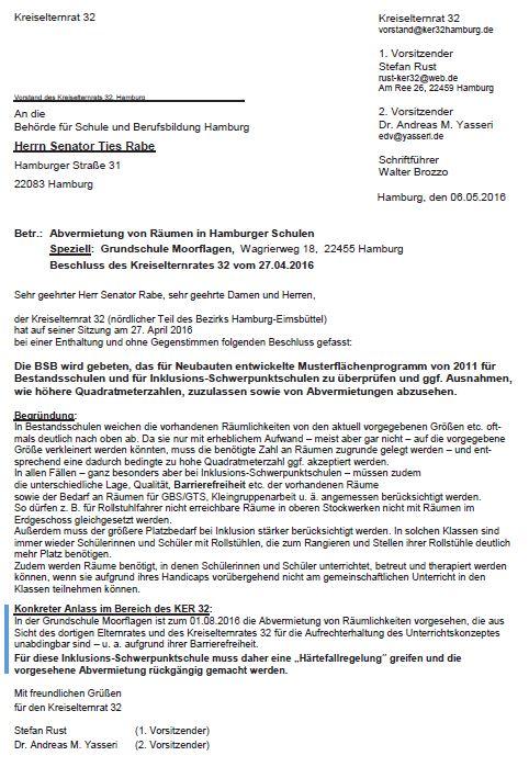 KER 32-Beschluss Abvermietung Moorflagen