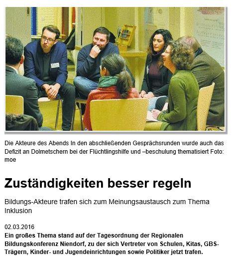 Zuständigkeiten besser regeln _ Nachrichten - Niendorfer Wochenblatt 02-03-2016