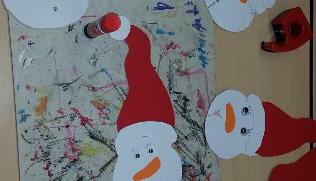 Das fröhliche Weihnachtsbasteln