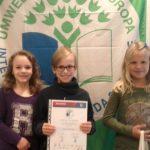 Auszeichung zur Umweltschule 2014