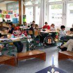 Deutschunterricht im Klassenraum