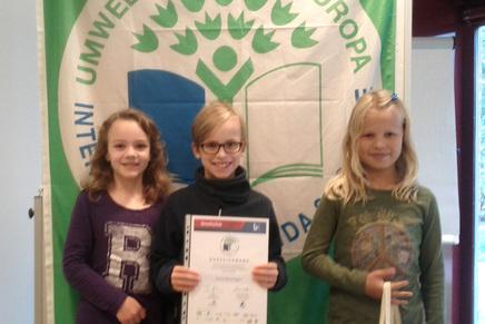 Auszeichnung zur Umweltschule in Europa 2014