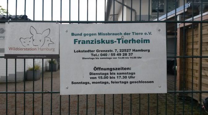 Spende für das Franziskus-Tierheim