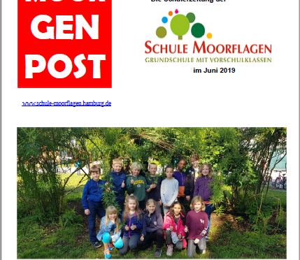 Neue Ausgabe der Schülerzeitung Moorgenpost ab sofort im Verkauf